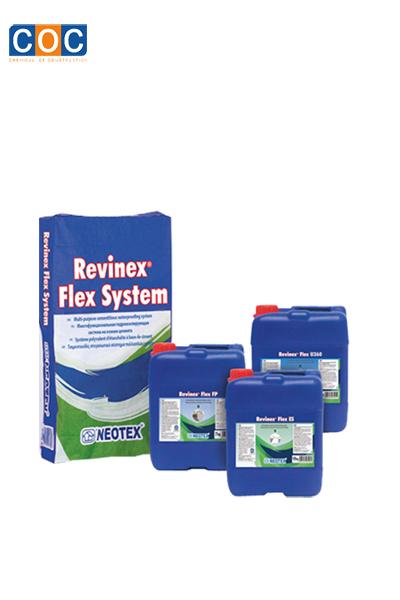 Màng chống thấm gốc xi măng Revinex flex system