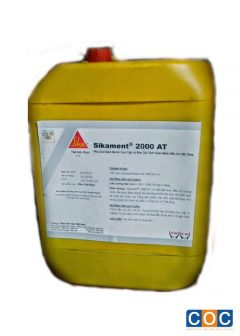 Phụ gia giảm nước và kéo dài thời gian ninh kết Sikament 2000AT
