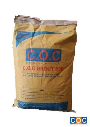 Vữa rót không co ngót C.O.C Grout 650