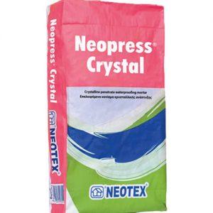 Lớp phủ chống thấm tinh thể thẩm thấu Neopress Crystal
