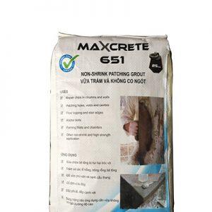 Vữa trát không co ngót Maxcrete 651