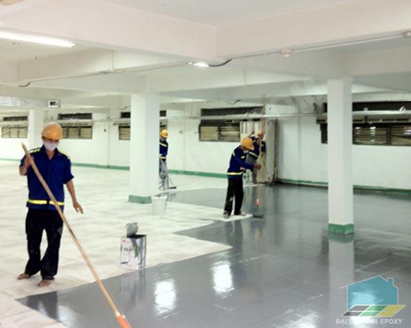 Lớp phủ sàn epoxy Nitoflor FC 140 (Nguồn internet)