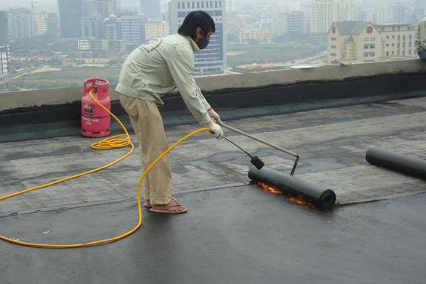 Màng chống thấm khò nóng Pluvitec (nguồn internet)