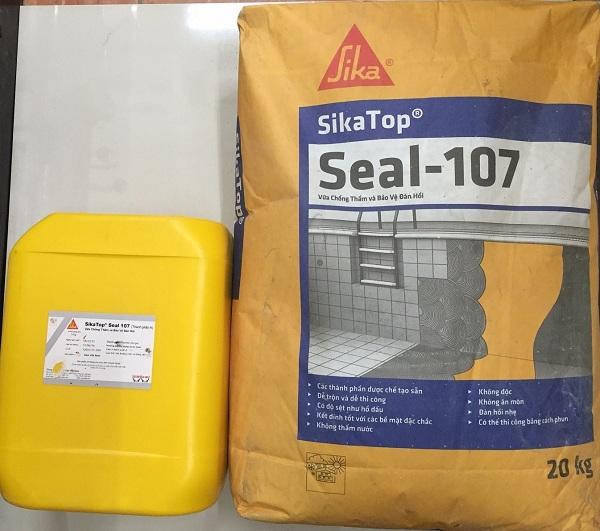 Màng chống thấm gốc xi măng SikaTop Seal 107