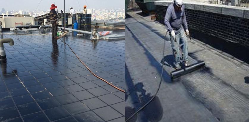biện pháp thi công chống thấm sàn mái