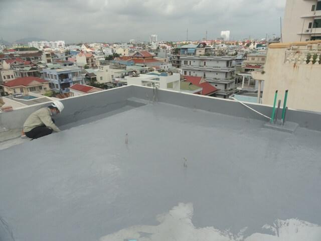 sika chống thấm sàn mái